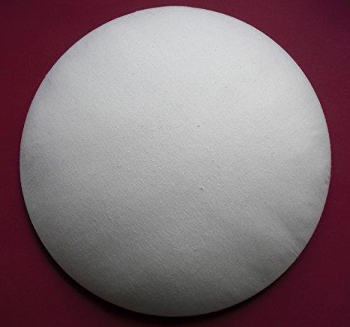 """Bügelkissen, (EINZIGARTIG!!!) perfekte Bügelhilfe für knifflige Stellen an Blusen, Hemden und vieles mehr. Optimale Form, """"DBGM"""" geschützt. (naturweiß)"""