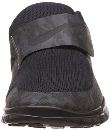 Nike Free Socfly, Scarpe da Corsa Uomo Nero / Grigio (Black/Anthrct-Anthrct-Drk Gry)