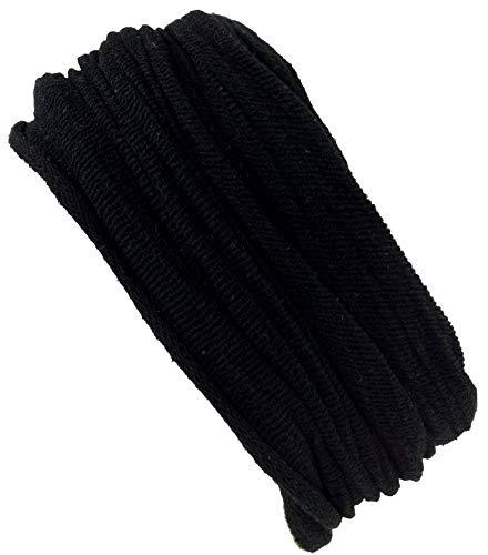 Guru-Shop Magic Hairband, Dread Wrap, Schlauchschal, Stirnband, Mütze - Schwarz, Herren/Damen, Baumwolle, Size:One Size, Stirnbänder Alternative Bekleidung -