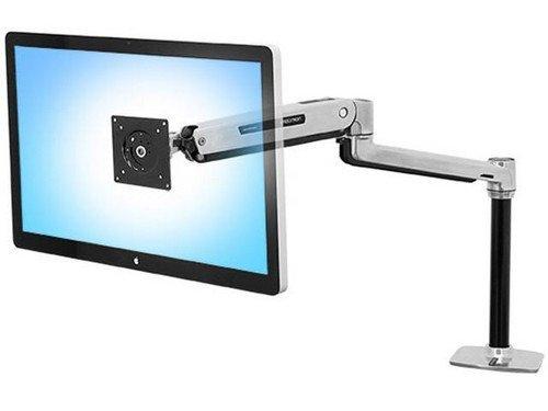 Ergotron 45-360-026 - LX Sit Stand, Desk Mount LCD Arm, Polished (Sit-stand Desk Ergotron)