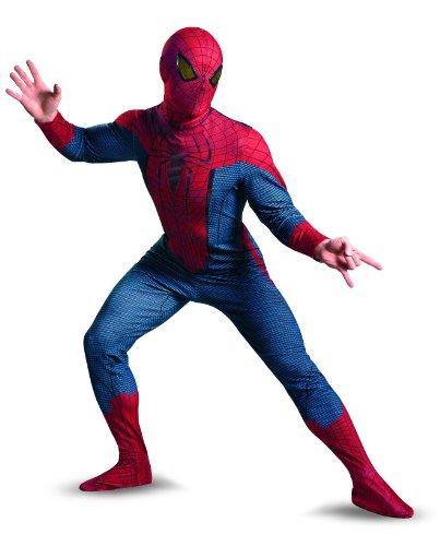 The Amazing Spider-Man Movie Deluxe Kostüm für Erwachsene (Größe XXL)