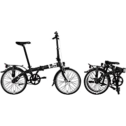 Bicicleta plegable Dahon Vybe D3 ND, 3 marchas Negro 20