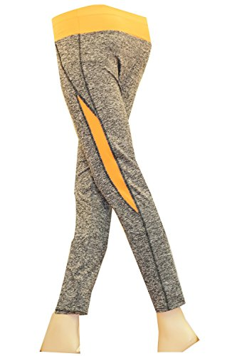 Mixmatch24 - Pantalon de sport - Femme Orange - Neon Orange