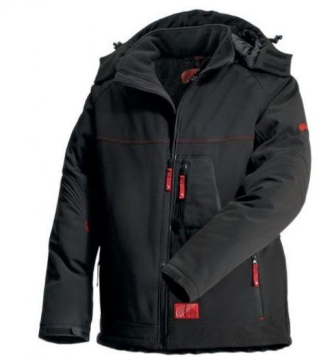Red Wing Soft Shell Winterjacke von 69006 XL Schwarz (Jacke Red Winter Wings)