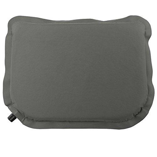 ALPIDEX selbstaufblasendes Sitzkissen selfinflating Thermokissen 40 x 30 x 3,8 cm Nur 185 g inkl. Packbeutel, Farbe:Stone Grey