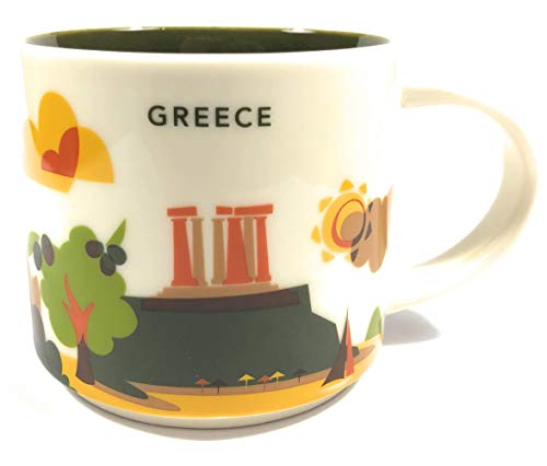 Starbucks 'You Are Here' YAH City Mug - Greece. -