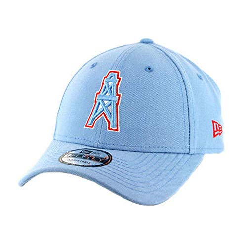 New Era Houston Oilers Strapback Cap 9forty Blaue Kappe NFL
