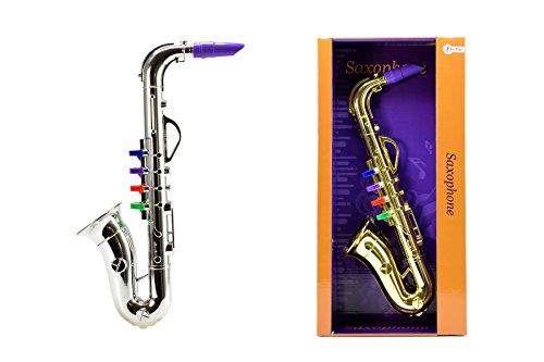Toi-Toys 53202Z Saxophone Jazz 2 Assorties Figur, Mehrfarbig