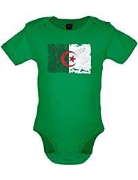 Algeria / Algérie Drapeau style grunge - Body pour bébé - 7 couleurs - 0-18 mois