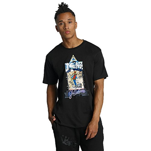Dangerous DNGRS Ghettostars Herren T-Shirt Schwarz Schwarz