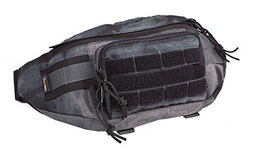 WiSPORT® GEKON Hüfttasche | Bauchtasche | Gürteltasche | Cordura | Outdoor | Militär A-Tacs LE