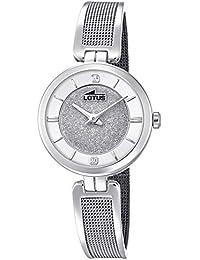 e1a429b895fc LOTUS Damen Uhr Fashion 18602 1 Edelstahl Armbanduhr Bliss Silber UL18602 1