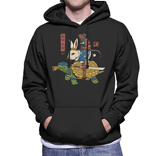 Teenage Mutant Ninja Turtles Kame Usagi Ratto Men's Hooded ()