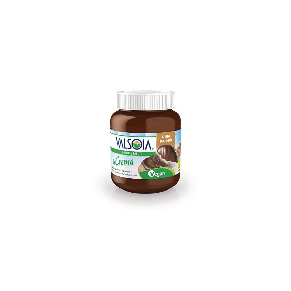 Valsoia La Crema Die Vegane Aufstrichcreme 400 G Haselnusscreme