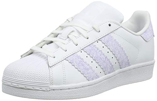 a6923ec8465 adidas Unisex Kids  Superstar J Gymnastics Shoes