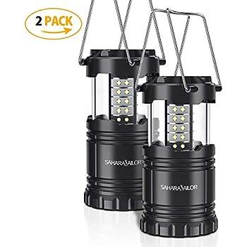 RICISUNG 27 LED Super Bright Compact Waterproof Home Work Light Worklight Bivouac Fishing Camping Hiking Tent Lamp Lantern Flashlight w//Hanging Hook