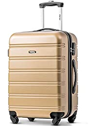 Travelhouse Merax Expandable Suitcase Travel Luggage Locks Hard Shell Lightweight 4 Wheel Suitcas