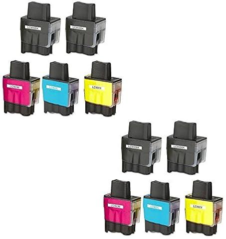 Prestige Cartridge LC900 LC950 Pack de 10 XL Cartouches d