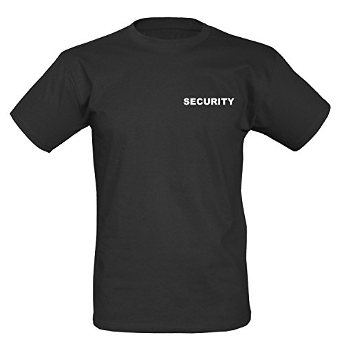 BW-ONLINE-SHOP Security T-Shirt Herren Polo Sec. Pullover Schwarz Shirt II