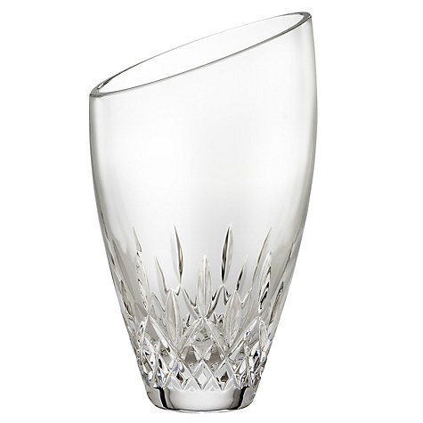Crystal Lismore Essence Round Vase
