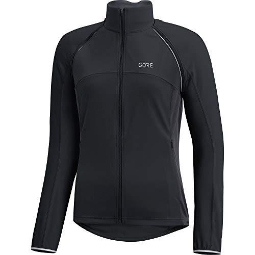 Stretch-zip-jacke (GORE WEAR C3 Damen Zip-Off Jacke GORE WINDSTOPPER, 38, Schwarz/Dunkelgrau)