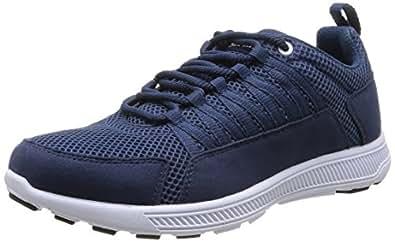 Supra Owen, Chaussons Sneaker Adulte Mixte - Bleu (Navy - White     Nvy), 40.5 EU