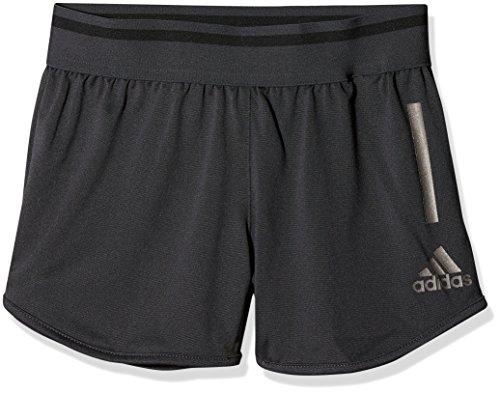 adidas Mädchen Training Cool-CF7172 Shorts, grau (Carbon/Black), 152 - Mesh-mädchen Training