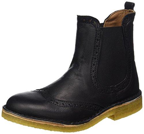 Bisgaard Unisex-Kinder Stiefelette Chelsea Boots, Schwarz (202 Black), 39 EU