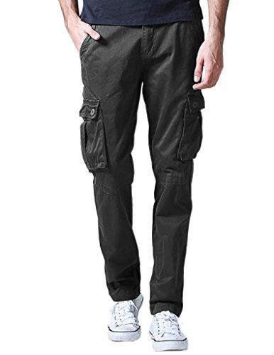 Match Pantalons Cargo pour Hommes #6531 6531 Foncé gris(Dark gray)