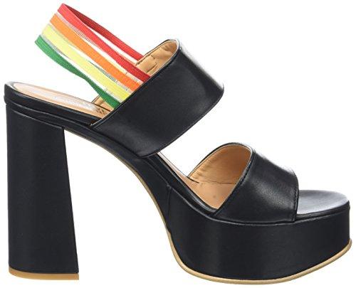 Love Moschino, Pompes de Plate-Forme Femme Noir