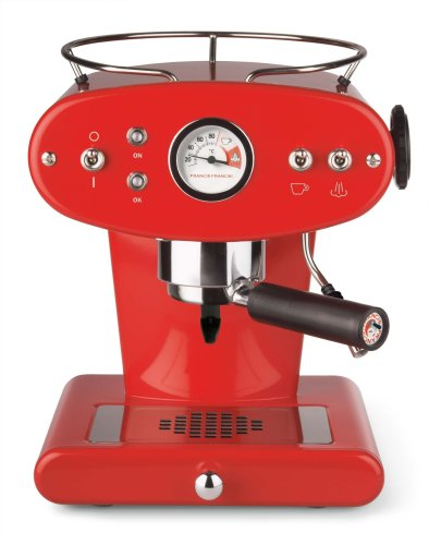 Illy FrancisFrancis! 6335 X1 Ground Espressomaschine rot (red)