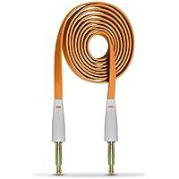 Aventus (Arancione) HP Pro Tablet 408 G1 Stereo Audio Ausiliare Cavo Piatto di 3.5 mm Jack Maschio a Maschio con Connettori Dorati