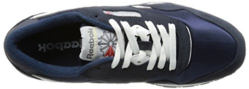Reebok Classic Nylon, 36088 Sneakers Basses, Homme 39749_43 EU_Team Navy/Platinum