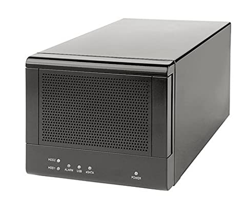 EdgeStore DAS200 2 Bay USB & SATA DAS Enclosure