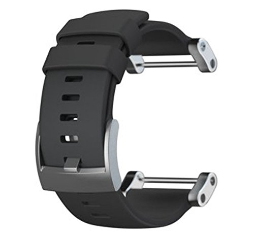 Suunto Core Flat Black Rubber Armband (Suunto Core Black)
