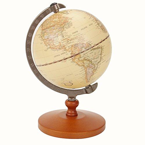 VStoy Globo del mundo para casa y trabajo, apto para decoración y como regalo educativo