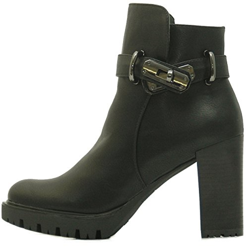 c92be4243401b Kayla Shoes Chelsea Boots Plateau Stiefeletten mit Blockabsatz in ...