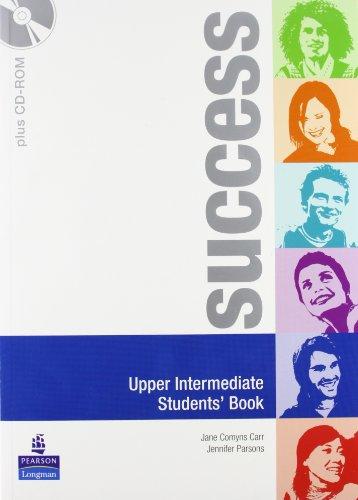 Success. Upper-intermediate. Student's book-Workbook. Per le Scuole superiori. Con CD Audio. Con CD-ROM