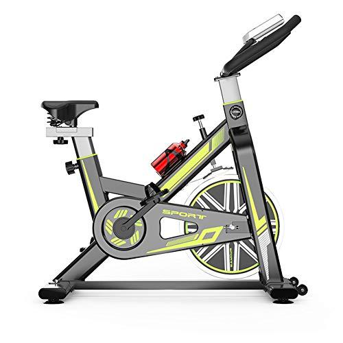 HLeoz Bicicleta Estática de Spinning, Profesional con Sensor de Pulso Ajustable Resistencia Pantalla...