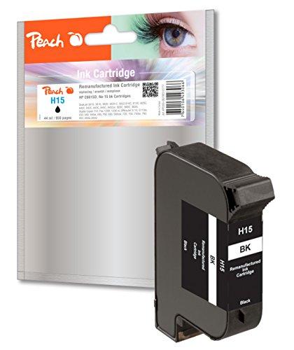 Preisvergleich Produktbild Peach Druckkopf schwarz kompatibel zu HP No. 15, C6615D