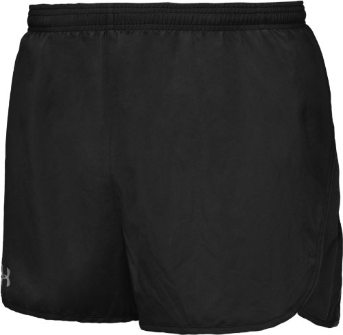 Under Armour Draft (Under Armour Draft 3 in Laufsport Shorts Herren Schwarz, Graphit, Herren, Noir, Graphite, FR : XL (Taille Fabricant : XL))