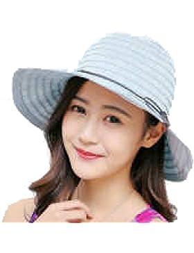 Sombreros Verano Señoras Protector Solar Sombrero Ocio Salvaje De Algodón UV Al Aire Libre Viajes Plegable Sombrero...