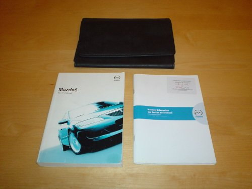 MAZDA6 MAZDA 6 OWNERS MANUAL HANDBOOK (2002 - 2008) SALOON & WAGON ESTATE - 1.8 2.0 2.2 LITRE PETROL ENGINE 2.0 LITRE DIESEL - OWNER'S HAND BOOK MANUAL