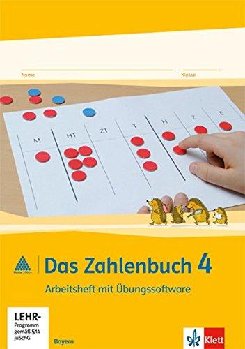 Das Zahlenbuch 4. Ausgabe Bayern: Arbeitsheft mit CD-ROM Klasse 4 (Das Zahlenbuch. Ausgabe für Bayern ab 2014)