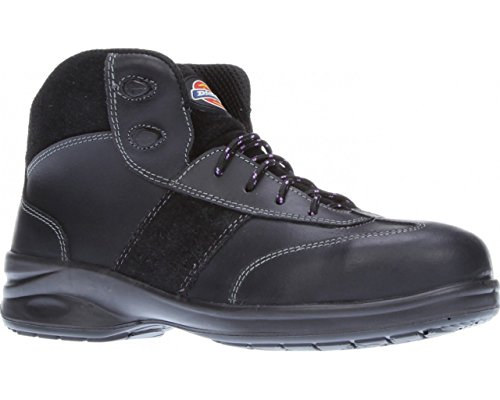 404f0700681 Dickies Ladies Safety Boots Work Safety Steel Toe Cap Womens Shoes  Lightweight Leather Velma Size FD9213 UK 3-8