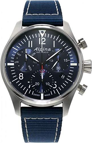 Alpina Geneve Startimer Pilot Quartz Chronograph AL-371NN4S6 Cronografo uomo