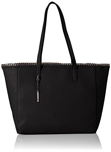 48d39eb403 LYDC London - G1734, Shoppers y bolsos de hombro Mujer, Schwarz (Black)