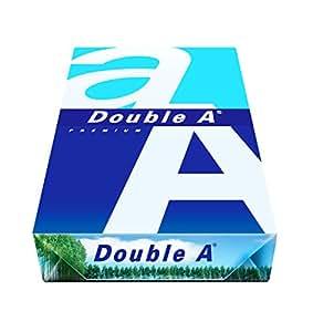 Double a paper PAPIER A4 500V. 80GR. A4 (210×297 mm) Bianco carta inkjet