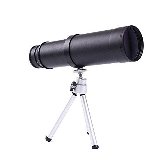 YYHSND Handmonokular 10X50, Niedrige Nachtsicht-Prisma-Teleskop-HD Ansicht-wild Lebende Tiere Teleskop