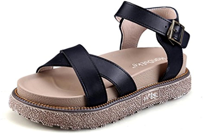 5c5f3dca23df09 nvxie woHommes 's fille sandale ouvert plat toe toe toe sandales plage  l'été des sandales tong chaussures taille 35 42 b07frn793m parent |  Ingénieux Et ...